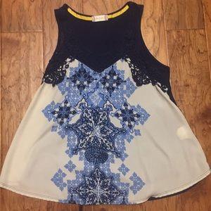 Alterd state sleeveless top Size M
